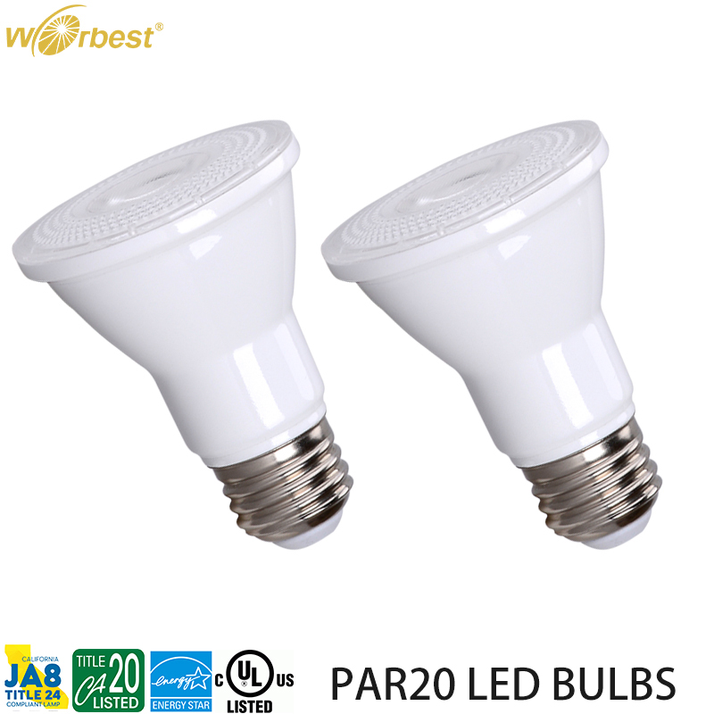 Worbest UL Energy Star dimmable PAR20 Led bulbs 5W 7W