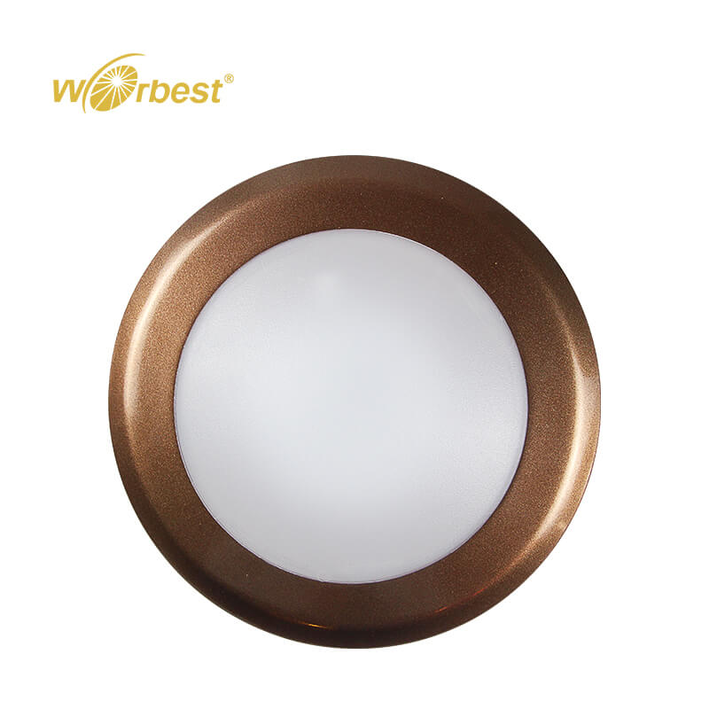 Worbest Surface Mounted LED Disk Light 6inch 15w 1050 Lumens with ETL ES listed