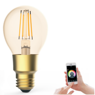 Worbest Smart LED Filament Bulbs 6W