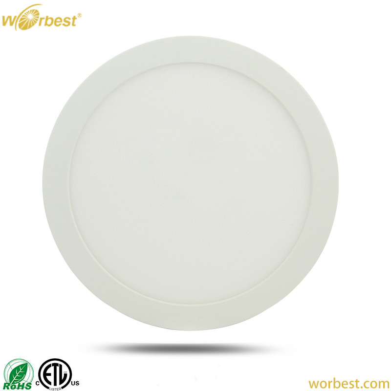 Worbest LED SLIM PANEL LIGHT 7inch 12W For J-Boxes